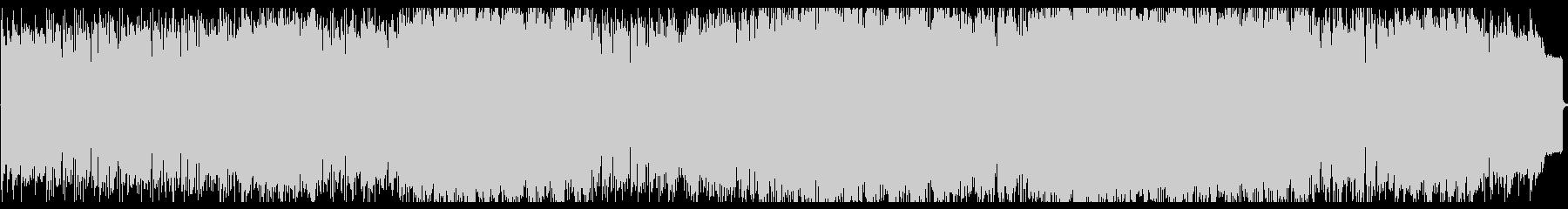 シンセリードのインストゥルメンタルの未再生の波形
