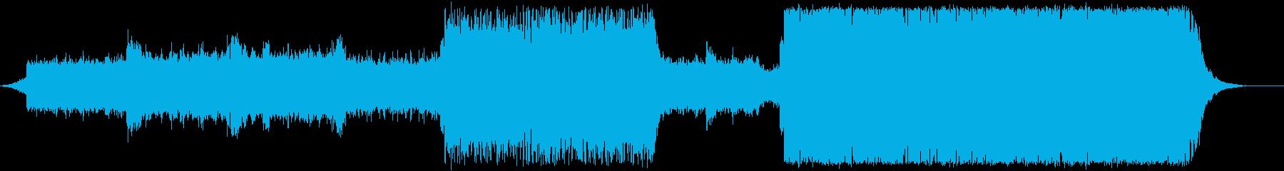 海/ドラムンベース/テクスチャーの再生済みの波形