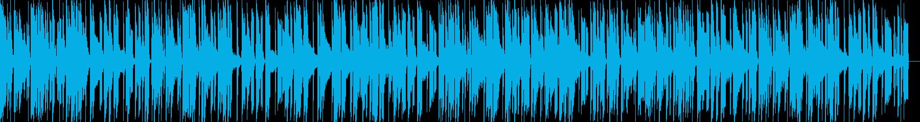 お洒落なチルアウトジャズ 落ち着くピアノの再生済みの波形