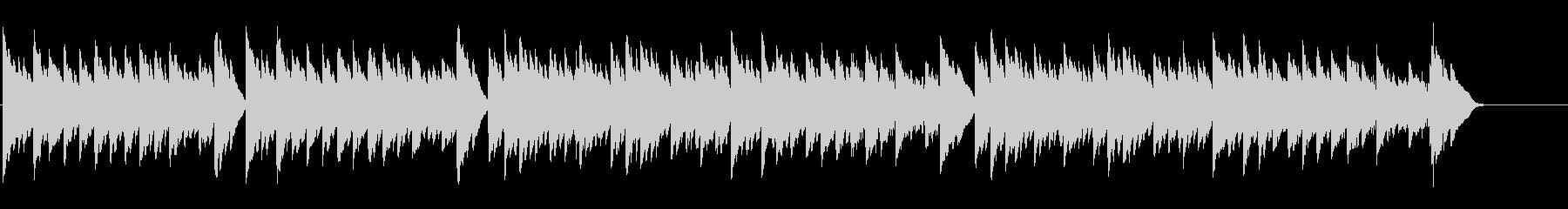 キラキラ星変奏曲(Var Ⅳ)オルゴールの未再生の波形