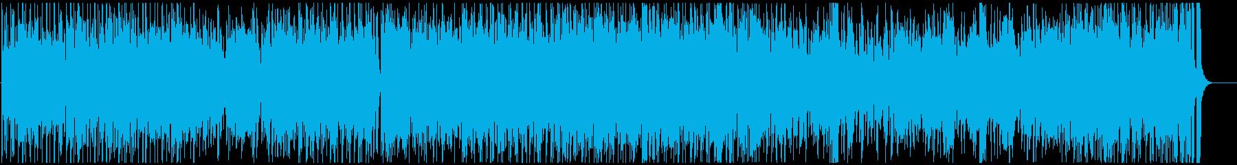 トロピカルなラテンジャズ フルートverの再生済みの波形
