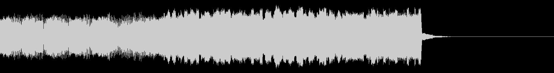 パチンコ的メロディインパクト音01の未再生の波形