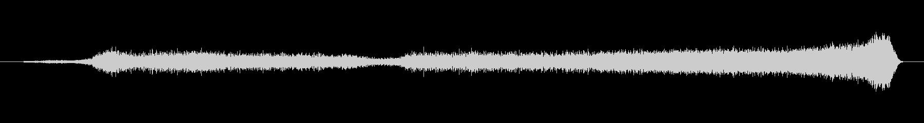 バルーン エアリリースバズ01の未再生の波形