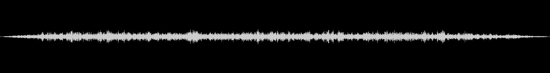 ジーーーー(ギターアンプノイズの音)の未再生の波形