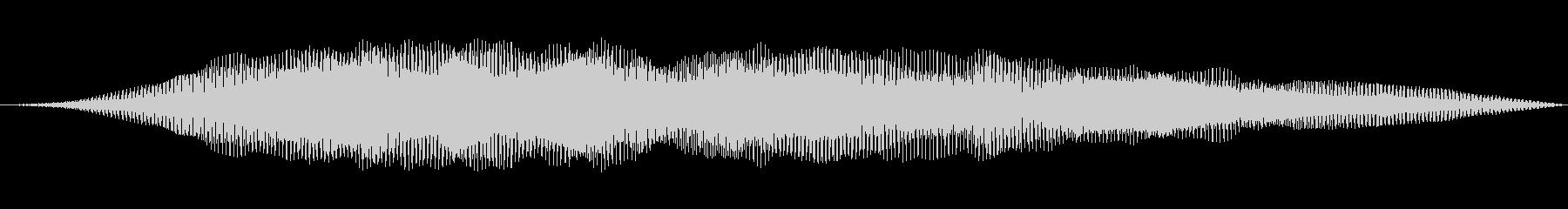ローシンセパワースイープの未再生の波形