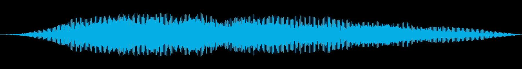 ローシンセパワースイープの再生済みの波形