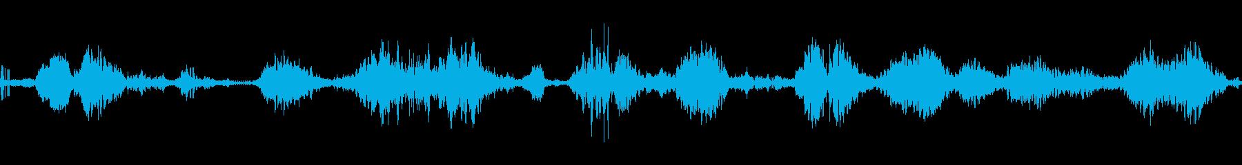 機械マニピュレーター散発的アクショ...の再生済みの波形