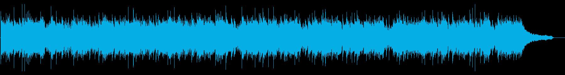 ピアノのシンプルな元気のでる作品の再生済みの波形