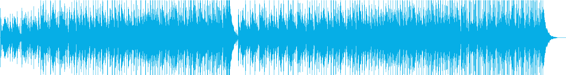 ゆったりのんびりハワイアンの再生済みの波形