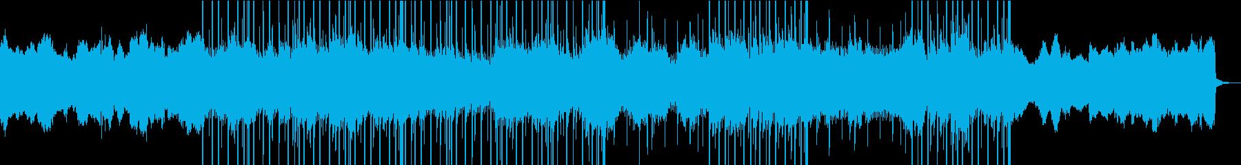 洋楽、ダーク、トラップ、ビートの再生済みの波形