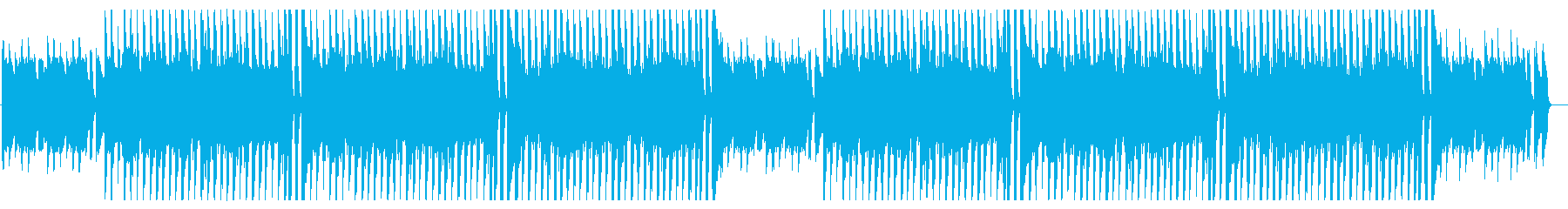 ほのぼのとしたかわいいピアノとアコギの曲の再生済みの波形