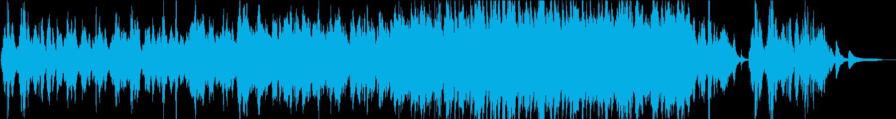 【生演奏】穏やかなバイオリン曲バラードの再生済みの波形