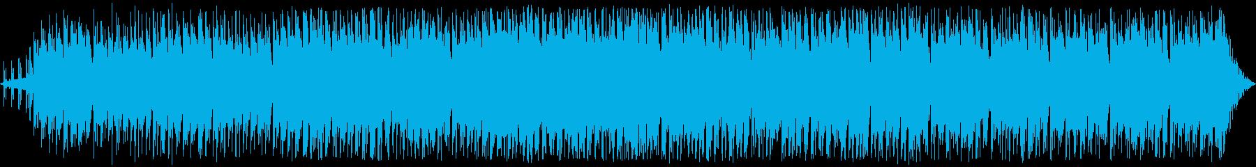 かわいい感じのエレクトロポップス別verの再生済みの波形