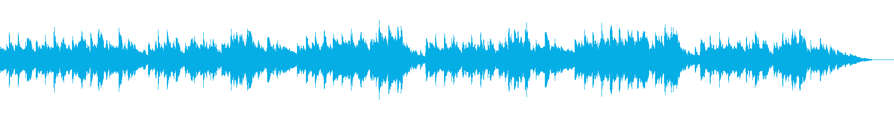 上品で清楚なシューマンのクラシックピアノの再生済みの波形