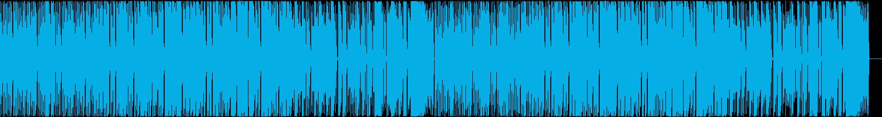 ロックマンを思わせる様な8bitサウンドの再生済みの波形