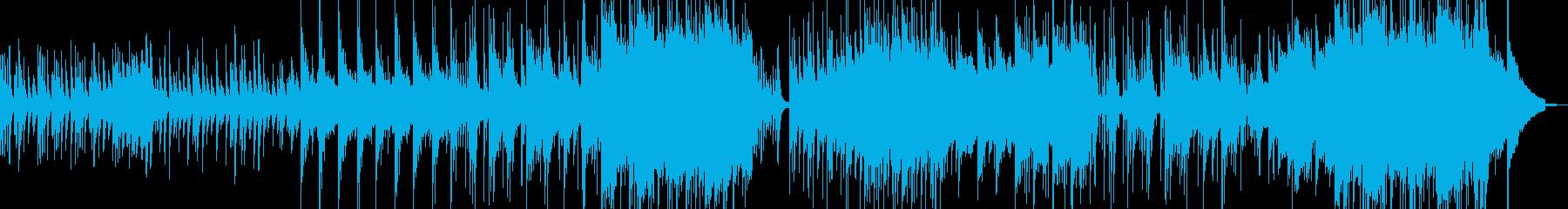 優し切ない心温まるスローポップ A2の再生済みの波形