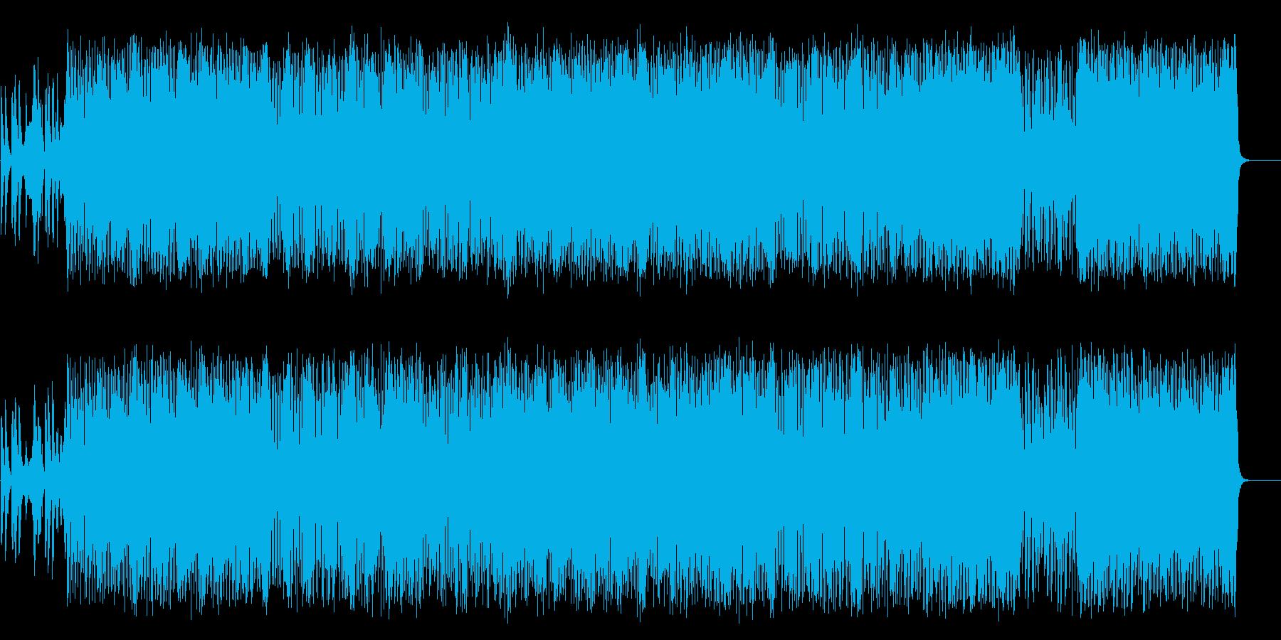ロードショーのオープニング風軽快なポップの再生済みの波形