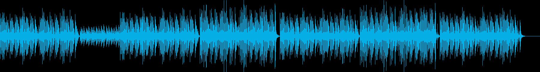 bpm080 キッズTikTok可愛い笛の再生済みの波形