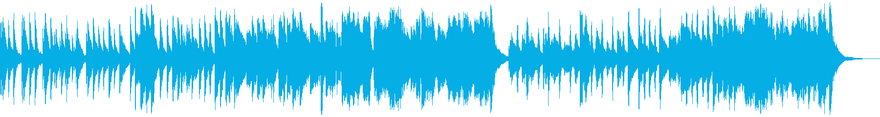 アコースティックなほのぼのふわふわ曲の再生済みの波形