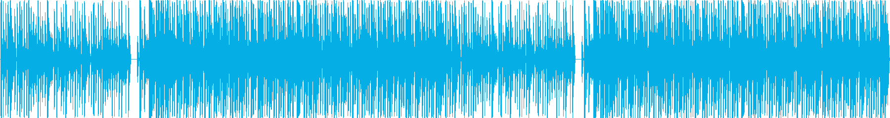 クールかつ緊張感の漂うサウンドの再生済みの波形