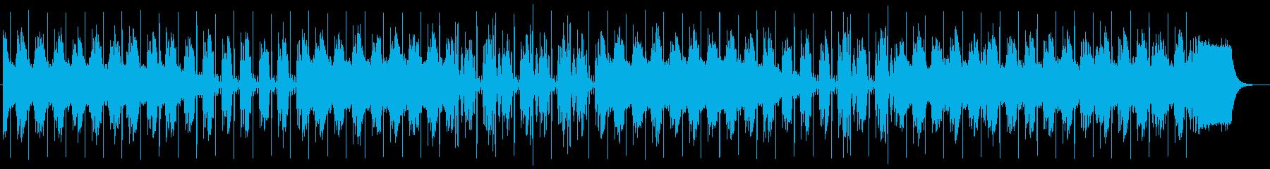 緊張感のあるテクノポップスの再生済みの波形