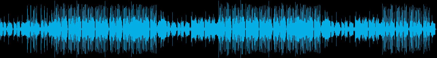 生音ギター・センチメンタル・エモ・ループの再生済みの波形