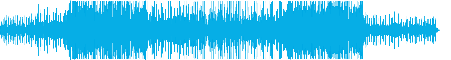 爽やかで軽快で可愛いトロピカルハウスの再生済みの波形