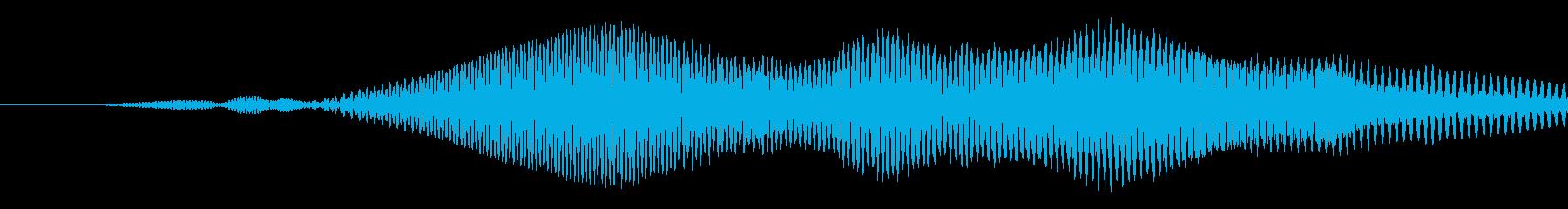 漫画のスライドwhiが速くの再生済みの波形