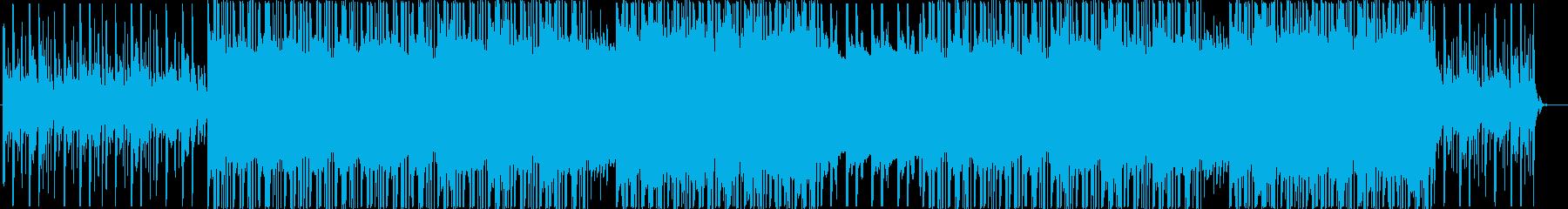 洋楽、チルアウト、民族楽器R&Bビート♫の再生済みの波形