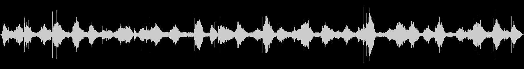 穏やかな波音(稲毛海岸)_01の未再生の波形