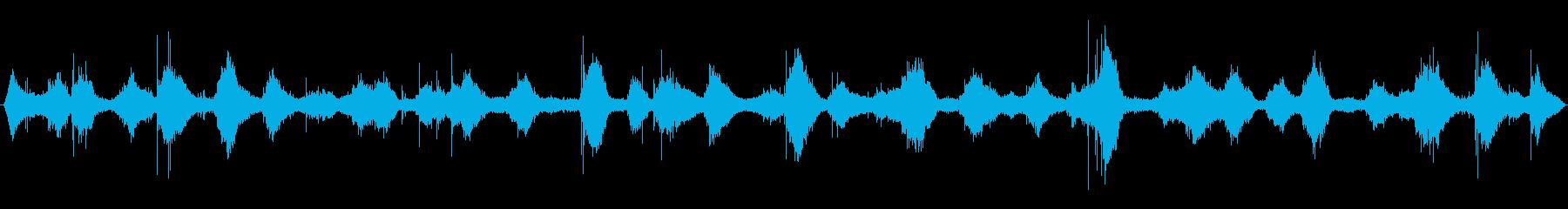 穏やかな波音(稲毛海岸)_01の再生済みの波形