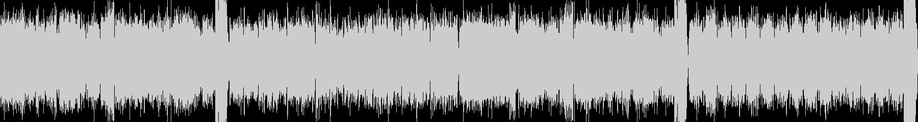 【ループ】不気味で美しいホラーBGMの未再生の波形
