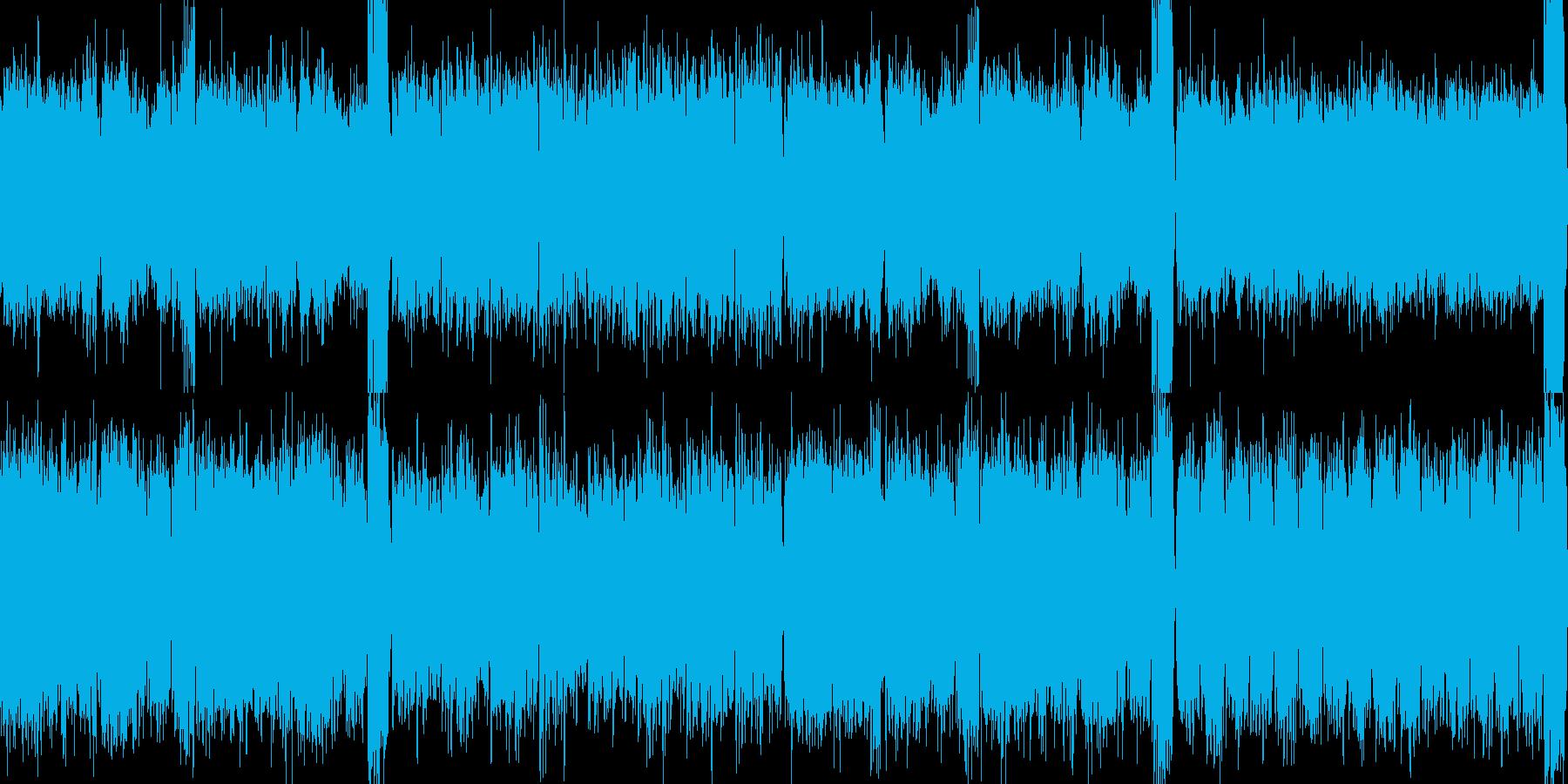 【ループ】不気味で美しいホラーBGMの再生済みの波形