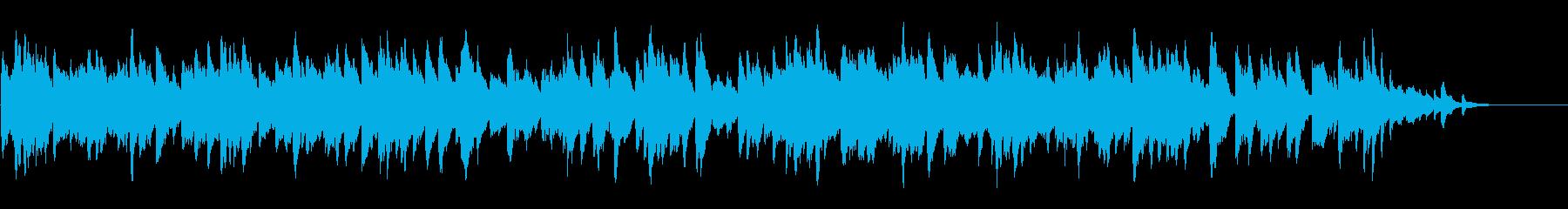 終わり来る残響のピアノの再生済みの波形