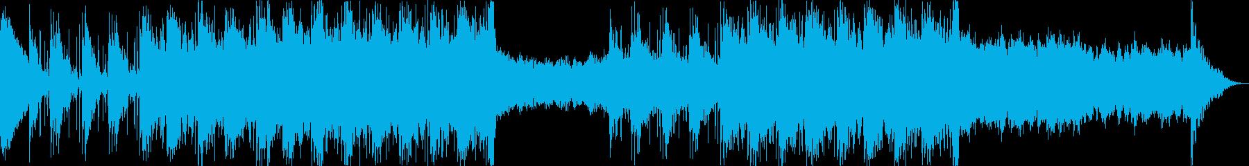 映画音楽、スピード感のある映像向け-03の再生済みの波形