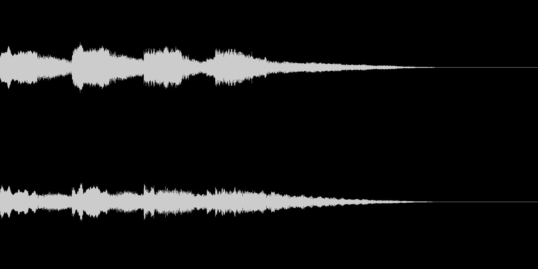 ほのぼの アイキャッチ 場面転換の未再生の波形