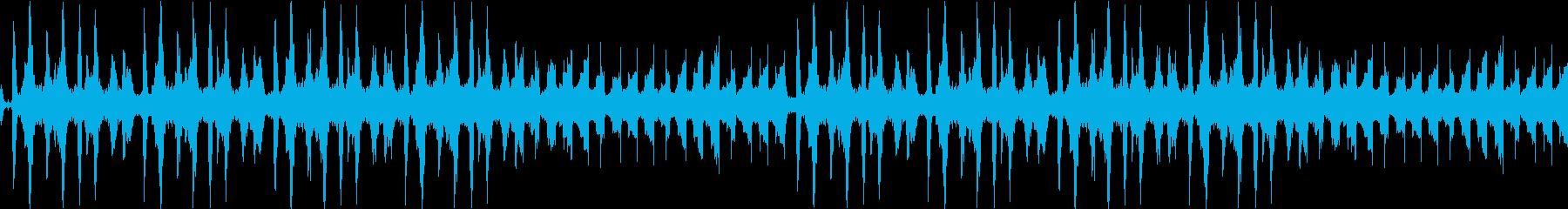 神秘的・リラックス・エレクトロ・ループの再生済みの波形