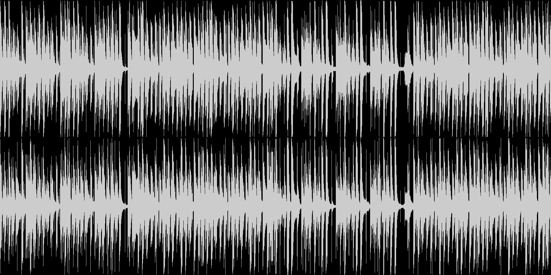 猫をイメージしたほのぼのポップな曲です!の未再生の波形