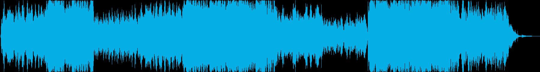 【ドラム抜き】切なく感動的な映像・番組向の再生済みの波形
