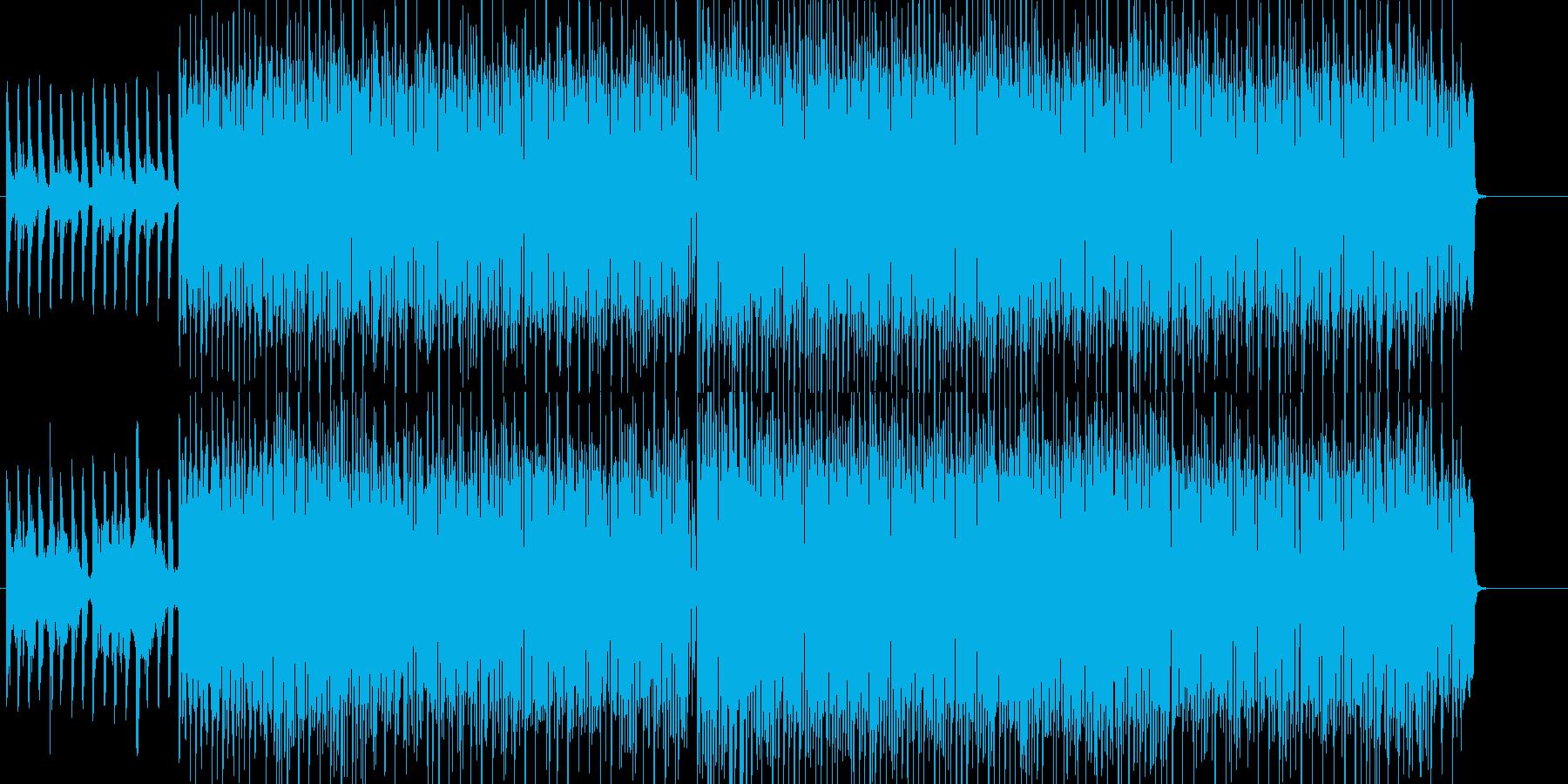淡々 緊張 不思議 科学 追跡の再生済みの波形