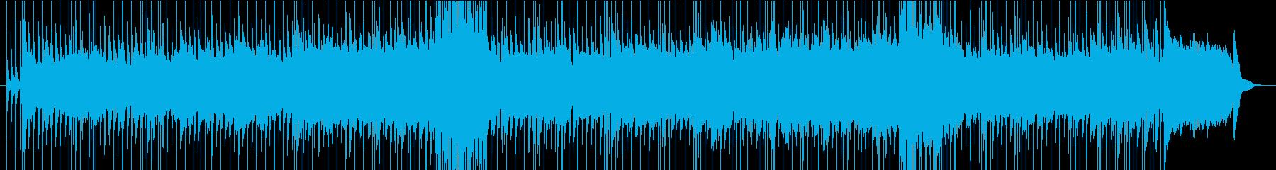 出撃する前のシーン用ロック生演奏の再生済みの波形
