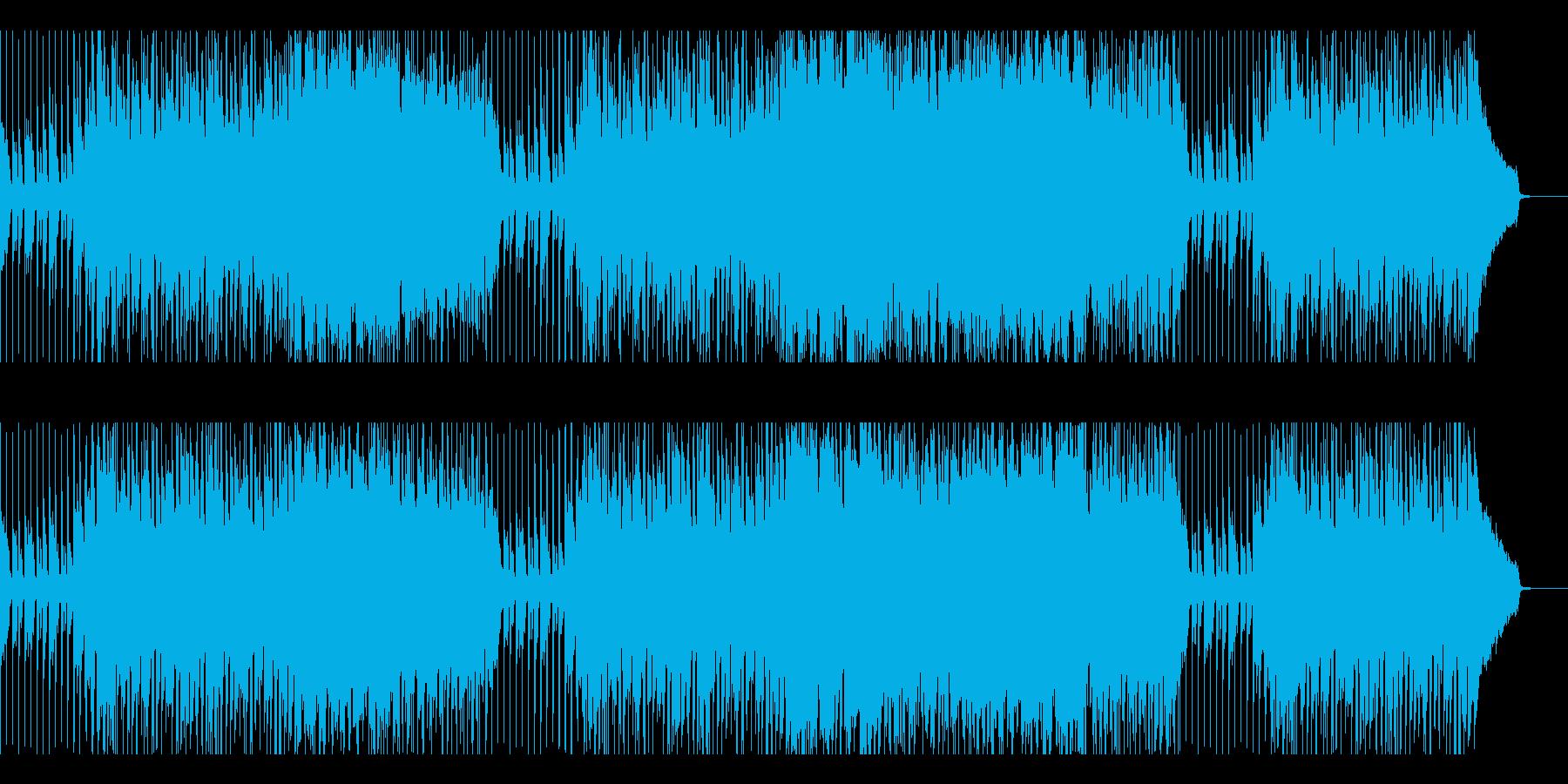 アグレッシブなカッコイイピアノとドラム。の再生済みの波形