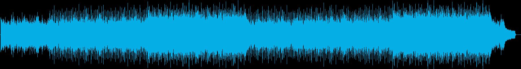 企業VP系64、爽やかピアノ、4つ打ちaの再生済みの波形