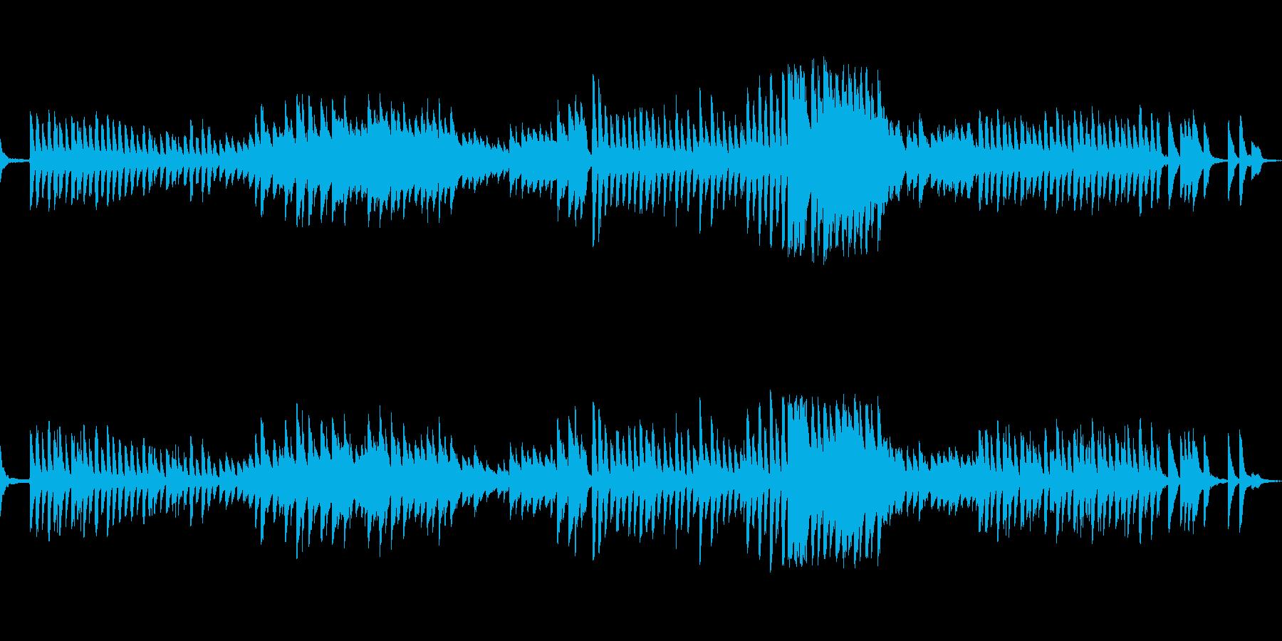 お菓子をイメージした可愛らしいラグピアノの再生済みの波形