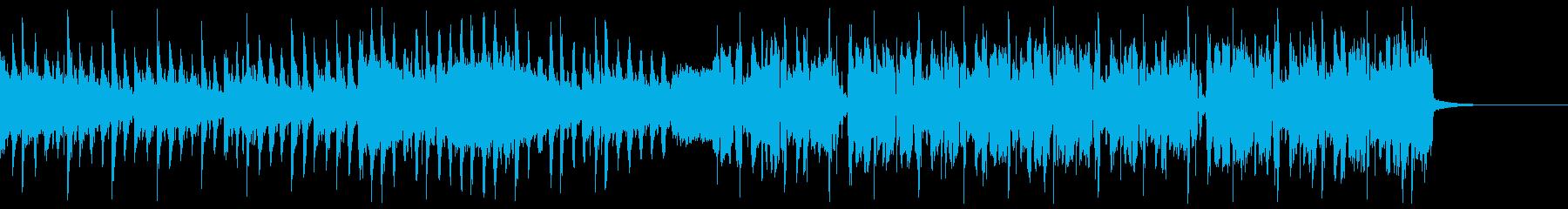 渋くてかっこいい変則ビートの再生済みの波形