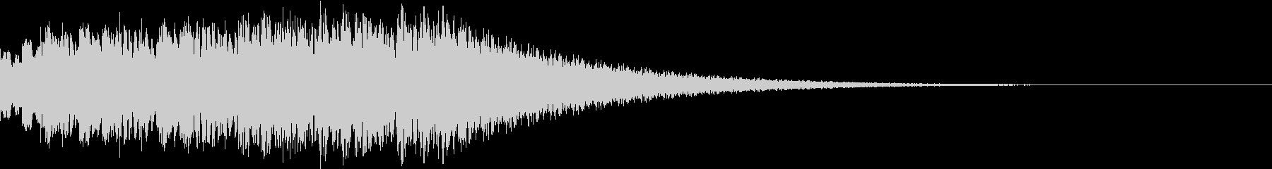 TVFX ビヨーンとヘンテコなSE 6の未再生の波形