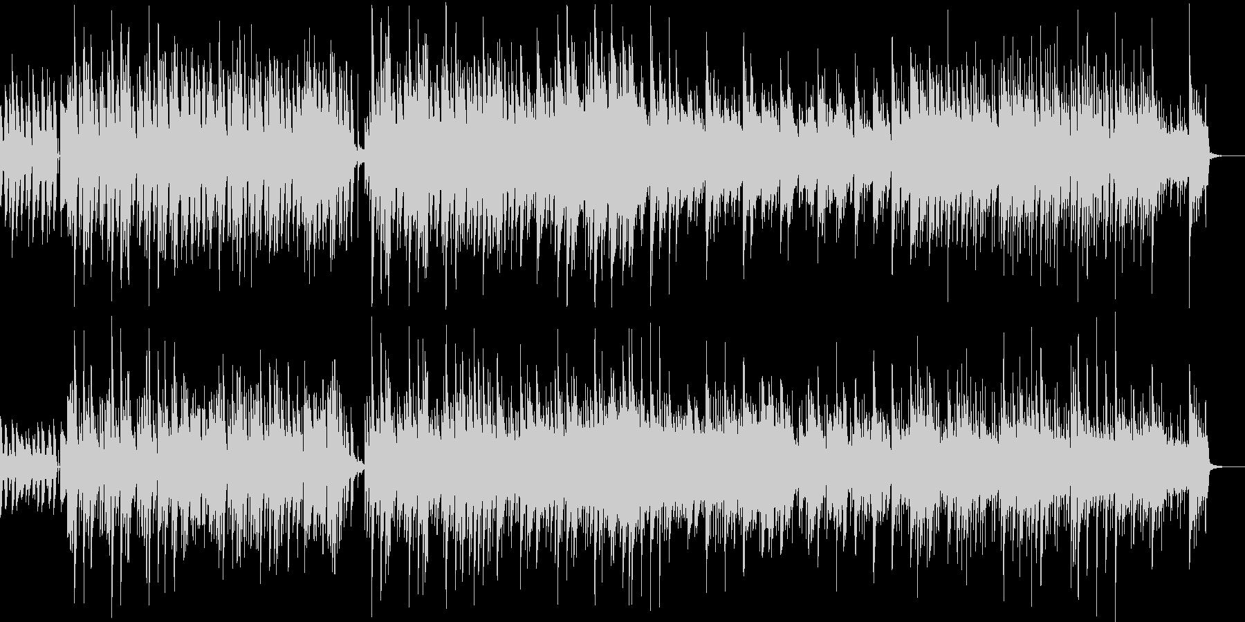 ほのぼのとしたボサノバ調のpopsの未再生の波形