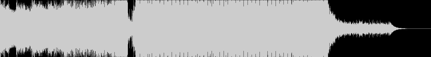 透明感のある和風プログレッシブハウス新Bの未再生の波形