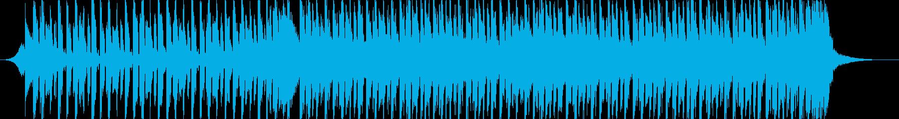 踊れるクラブ系EDM/パーティダンス曲の再生済みの波形