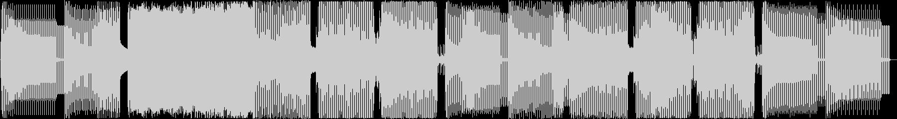 「アングラなノリノリEDM」の未再生の波形